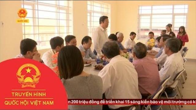 Thời sự - Phó Chủ Tịch Quốc Hội Phùng Quốc Hiển thăm Cảng Cá Phú Lạc