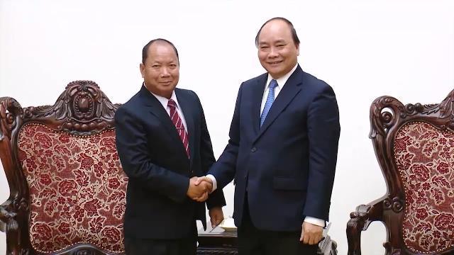 Tin Thời Sự Hôm Nay (22h - 16/3/2017): Thủ Tướng Nguyễn Xuan Phúc Tiếp Bộ Trưởng Bộ An Ninh Lào