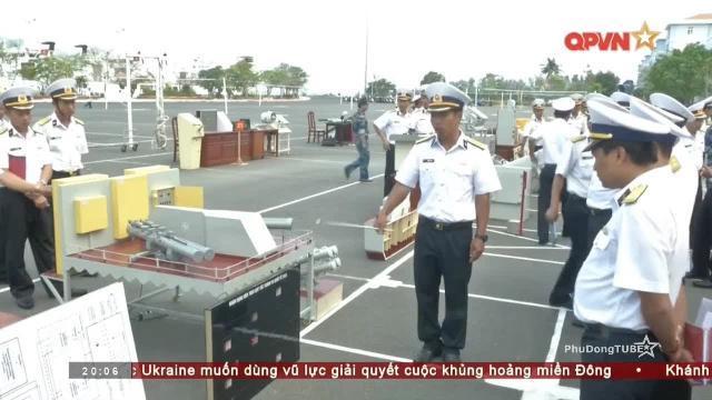 Mô hình vũ khí phục vụ huấn luyện của Hải quân Việt Nam