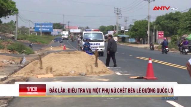 Bí ẩn xác chết phụ nữ đầm đìa máu trên Quốc lộ