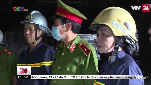 Xác Định Nguyên Nhân Ban Đầu Vụ Cháy Tại Khu Công Nghiệp Trà Nóc, Cần Thơ - Tin Tức VTV24