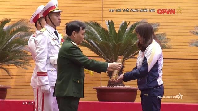 Bộ Quốc phòng vinh danh các cá nhân có thành tích thể thao cao