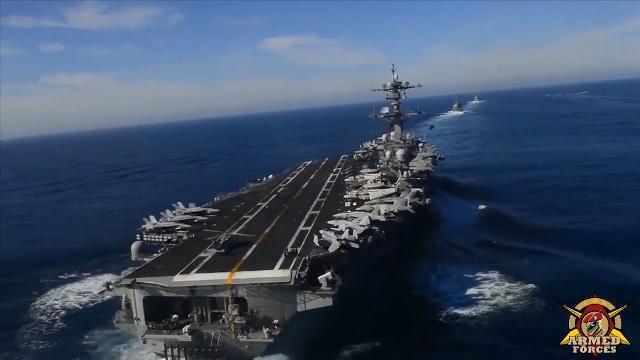Triều Tiên tuyên bố sẵn sàng đánh chìm tàu sân bay của Mỹ