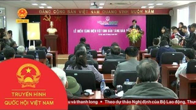 Thời sự - Lễ phát động hiến tặng hiện vật bảo tàng báo chí Việt Nam lần thứ VI