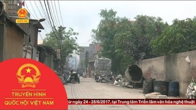 Thời sự - Ô nhiễm môi trường nghiêm trọng tại Văn Môn - Bắc Ninh