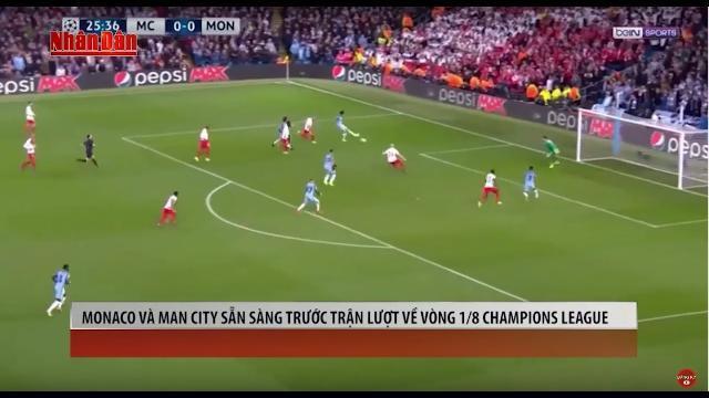 Tin Thể Thao 24h Hôm Nay (7h -15/3): Monaco vs Man City - Muốn Bắt Cọp Phải Vào Hang Cọp
