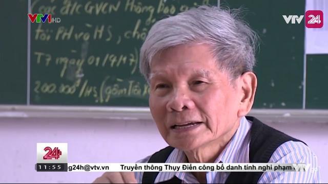 Giáo Sư 84 Tuổi Ôn Thi Tốt Nghiệp Miễn Phí Cho Học Sinh - Tin Tức VTV24