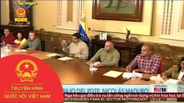 Thời sự - Tổng Thống Venezuela Kêu Gọi Phe Đối Lập Đối Thoại