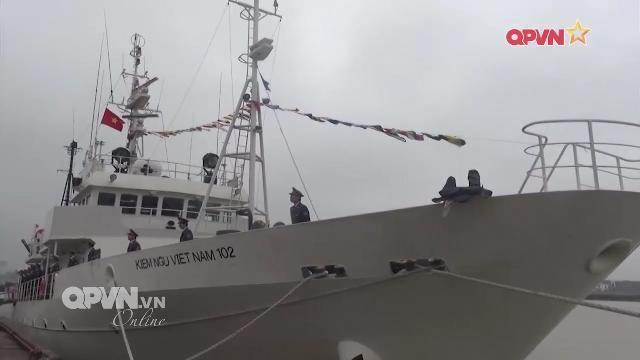 Kiểm ngư Việt Nam tiếp nhận tàu hiện đại do Nhật tài trợ