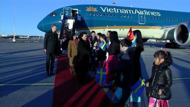 Chủ tịch Quốc hội Nguyễn Thị Kim Ngân thăm chính thức Vương quốc Thụy Điển