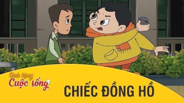 Quà tặng cuộc sống - CHIẾC ĐỒNG HỒ - Phim hoạt hình hay nhất 2017 - Phim hoạt hình Việt Nam