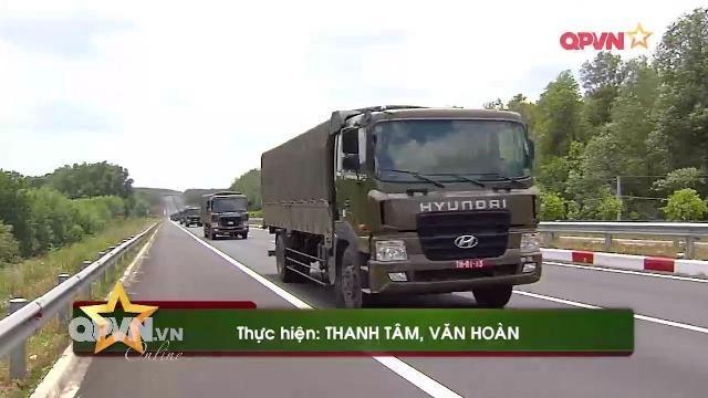 Đào tạo lái xe quân sự HD170 ở Lữ đoàn vận tải 972