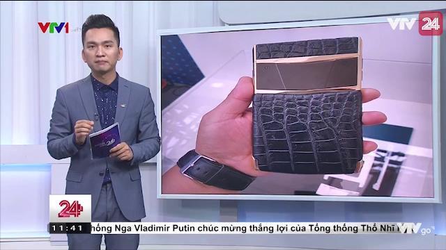 Điện Thoại Chống Nghe Lén Đầu Tiên Made In Viet Nam - VTV24
