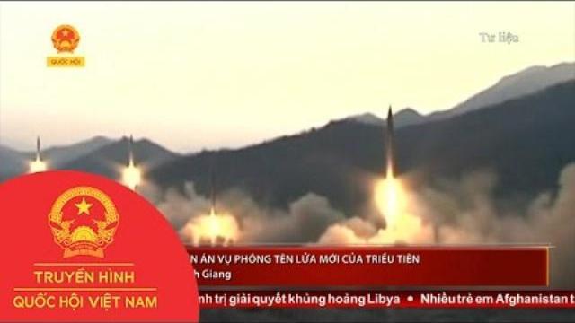 Eu, Pháp Lên Án Vụ Phóng Tên Lửa Mới Của Triều Tiên |Thời sự | THQHVN|