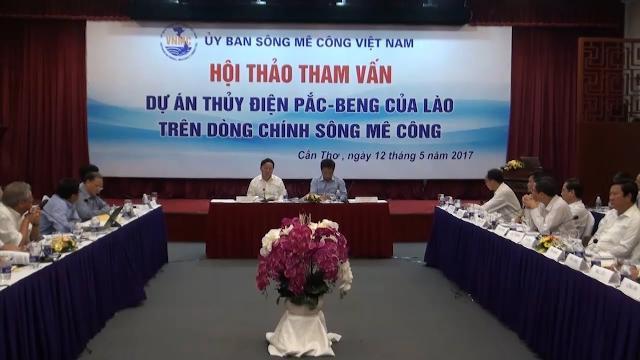 Tham vấn Dự án thủy điện Pắc-Beng của Lào trên dòng chính sông Mekong