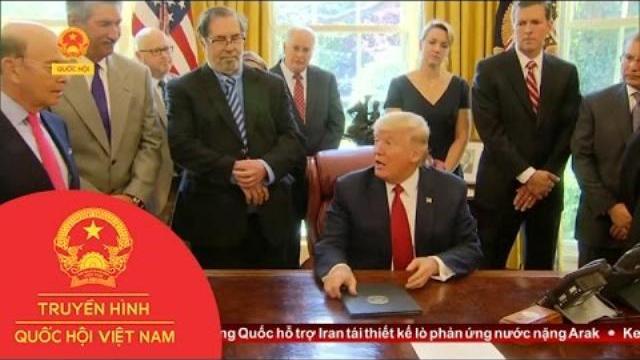 Thời sự - Tổng Thống Mỹ Yêu Cầu Điều Tra Thép Nhập Khẩu Từ Trung Quốc