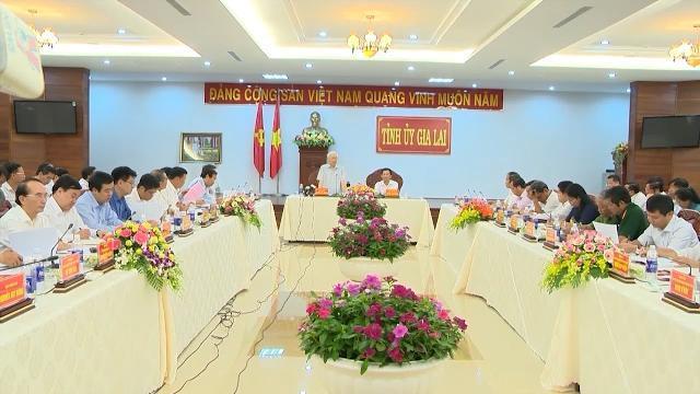 Tin Thời Sự Hôm Nay (18h30 - 13/4/2017): Tổng Bí Thư Làm Việc Với Lãnh Đạo Chủ Chốt Tỉnh Gia Lai