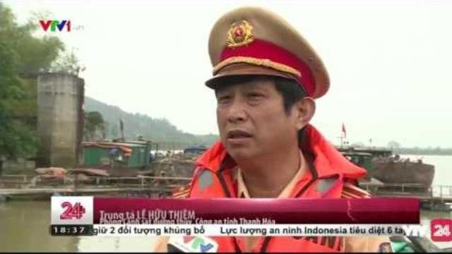 Tràn Lan Tàu Bè Không Đăng Kiểm Tại Thanh Hóa - Tin Tức VTV24