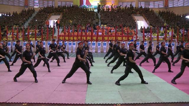 Lễ khai mạc Hội thể thao bắn súng, võ thuật Thanh niên Công an khu vực phía Bắc
