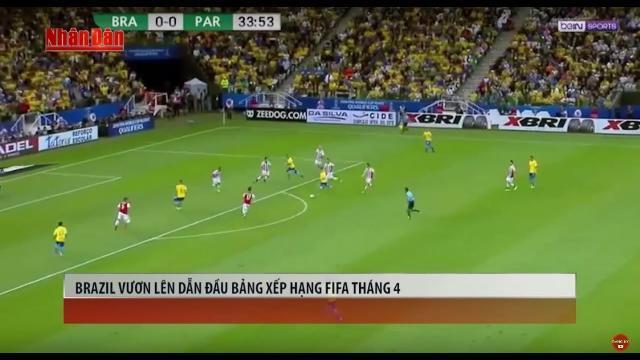 Tin Thể Thao 24h Hôm Nay (7h- 7/4): Đoạt Vé Dự VCK World Cup - Brazil Vượt Lên Số 1 BXH FIFA Tháng 4