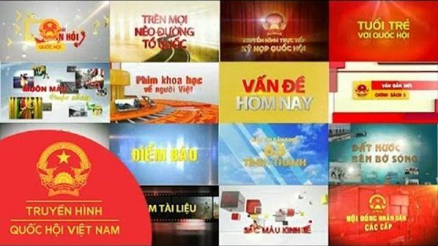 Thời sự - Truyền hình Quốc hội là một trong 7 kênh truyền hình thiết yếu Quốc gia