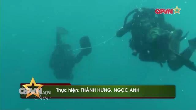 Thời sự Quốc phòng Việt Nam ngày 18/5/2017: Đặc công người nhái Việt Nam khổ luyện