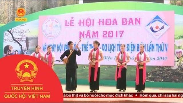 Thời sự - Điện Biên: Rực rỡ sắc màu văn hóa tại Lễ hội hoa ban