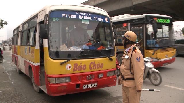 Hà Nội tăng cường xử lý các chủ phương tiện vi phạm các quy định về an toàn giao thông