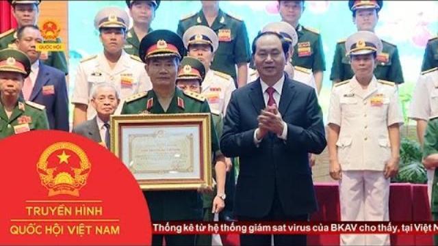 Lễ trao giải thưởng Hồ Chí Minh cho các công trình trong lĩnh vực quân sự, quốc phòng