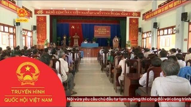 Thời sự - Đoàn ĐBQH các tỉnh Quảng Nam, Thừa Thiên - Huế và Đắk Lắk tiếp xúc cử tri