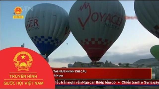 Thời sự - Thổ Nhĩ Kỳ: Tai nạn khinh khí cầu, gần 50 khách bị thương