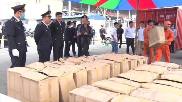 Tin tức 24h: Phát hiện 2,8 tấn lá khát - loại ma túy nguy hiểm qua cửa khẩu Hải Phòng