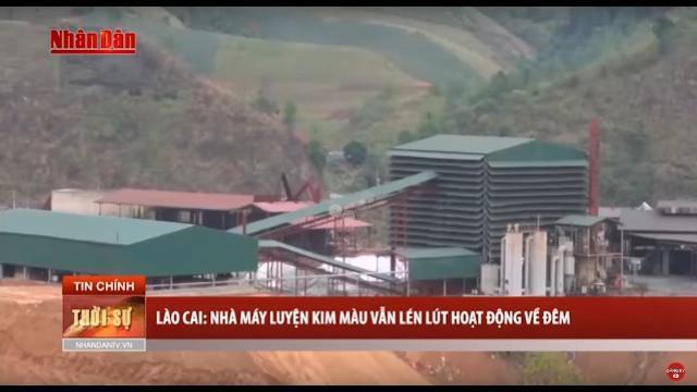 Tin Thời Sự Hôm Nay (6h30 - 16/4/2017): Nhà Máy Luyện Kim Màu Vẫn Lén Lút Hoạt Động Về Đêm