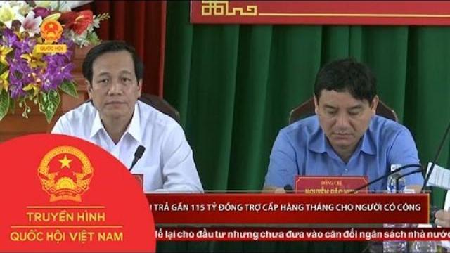 Nghệ An: Chi trả gần 115 tỷ đồng trợ cấp hàng tháng cho người có công