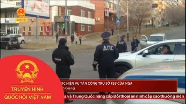 IS nhận thực hiện vụ tấn công trụ sở FSB của Nga