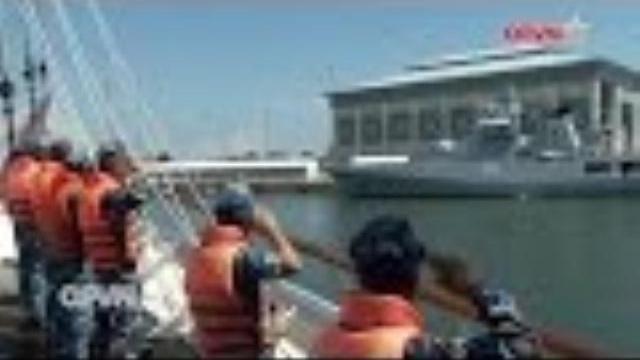 Tàu buồm Lê Quý Đôn thăm và diễn tập với Hải quân Brunei