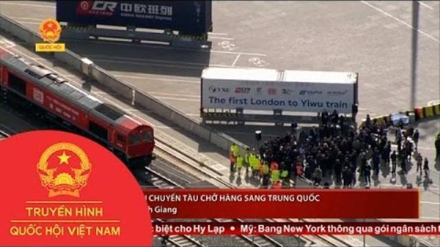 Thời sự - Anh Nối Lại Chuyến Tàu Chở Hàng Sang Trung Quốc