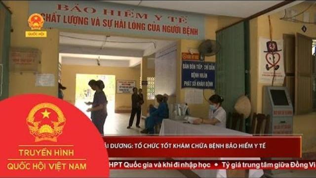 Hải Dương: Bệnh viện tuyến huyện tổ chức tốt khám chữa bệnh bảo hiểm y tế