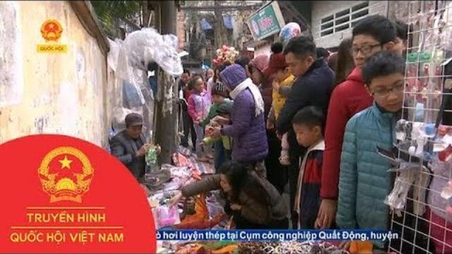 Chợ làng trăm tuổi giữa Hà Nội | Thời Sự | THQHVN