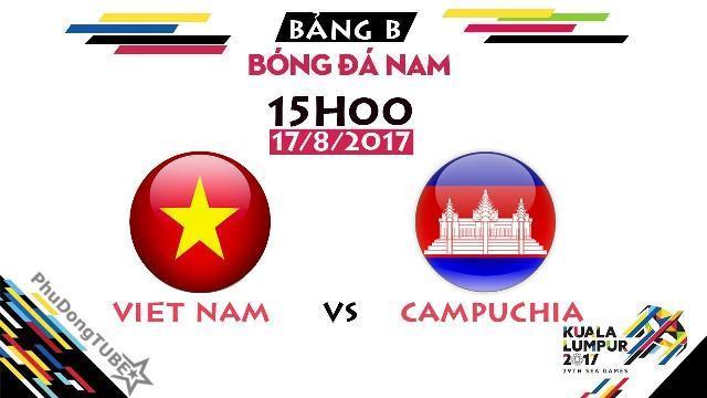 [SEA Games 29] U22 Việt Nam vs U22 Campuchia | Thông tin trước trận đấu