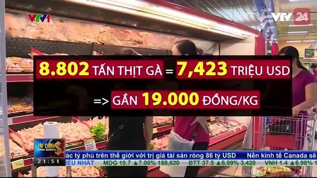 Bác thông tin thịt gà Mỹ giá vài nghìn đồng / Kg | VTV24