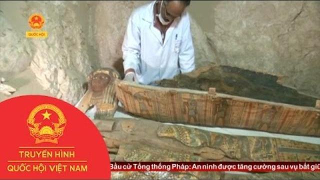 Thời sự - Ai Cập Phát Hiện Ngôi Mộ Cổ Hơn 3.500 Năm Tuổi