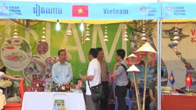 Việt Nam tham gia liên hoan ẩm thực ASEAN tại Campuchia