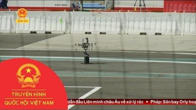 Thời sự - Hào hứng cuộc thi robot quốc tế tại Abu Dhabi (Uae)