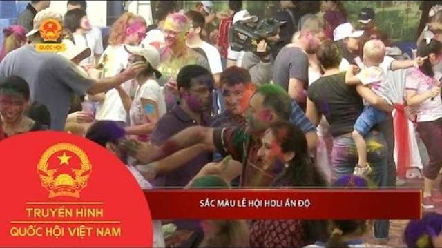 Thời sự - Sắc màu Lễ hội Holi Ấn Độ