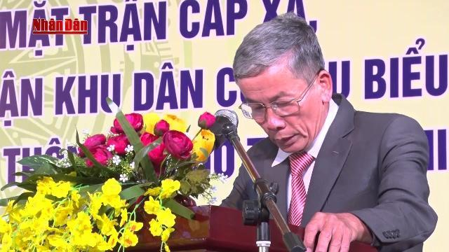 Thừa Thiên - Huế tuyên dương 150 cán bộ Mặt trận tiêu biểu tại cơ sở