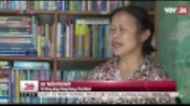 Thư viện miễn phí của cô thủ thư đặc biệt | VTV24