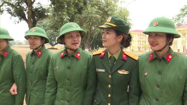 Huấn luyện chiến sĩ mới tại Lữ đoàn Thông tin 139