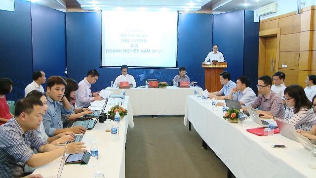 Họp báo thông tin về Hội nghị Thủ tướng Chính phủ với doanh nghiệp năm 2017