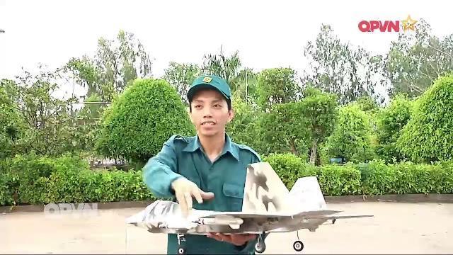 Thời sự Quốc phòng Việt Nam ngày 19/4/2017: Mô hình máy bay F22 tập bắn của dân quân tự vệ Đồng Tháp